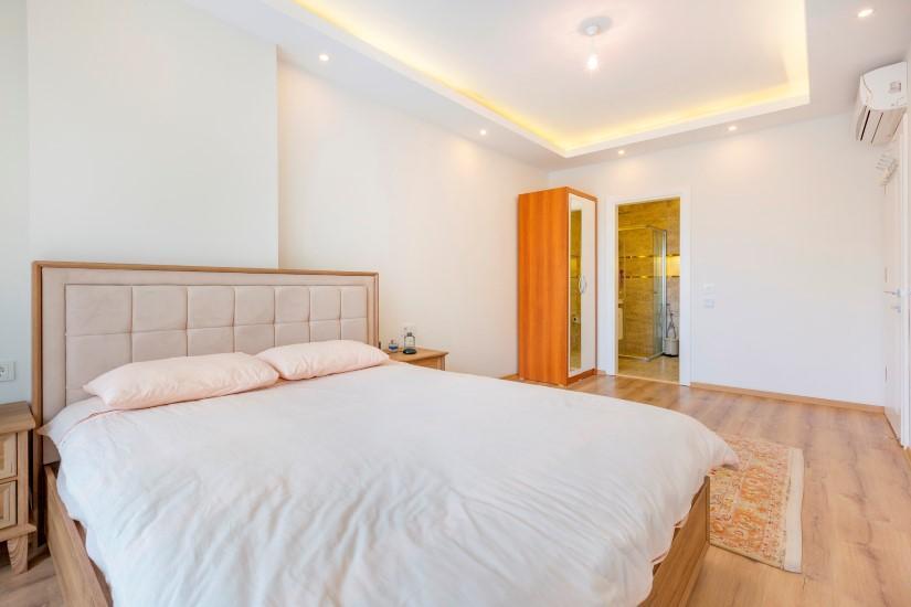 Трёхкомнатная квартира в самом популярном районе Алании - Фото 25
