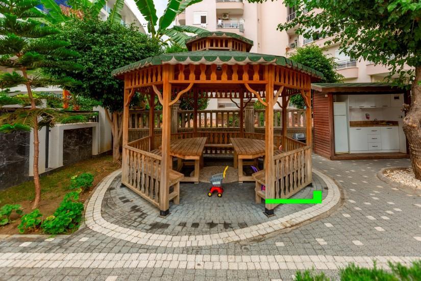 Трёхкомнатная квартира в самом популярном районе Алании - Фото 7