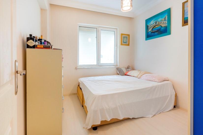 Трехкомнатная квартира в центре Алании рядом с пляжем Клеопатра - Фото 22