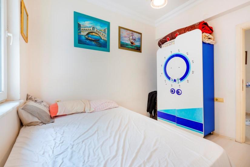 Трехкомнатная квартира в центре Алании рядом с пляжем Клеопатра - Фото 21