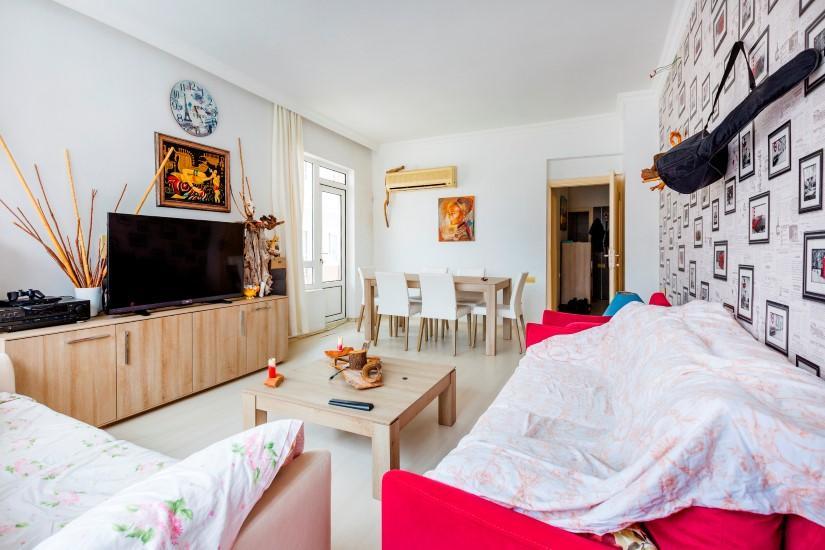 Трехкомнатная квартира в центре Алании рядом с пляжем Клеопатра - Фото 17