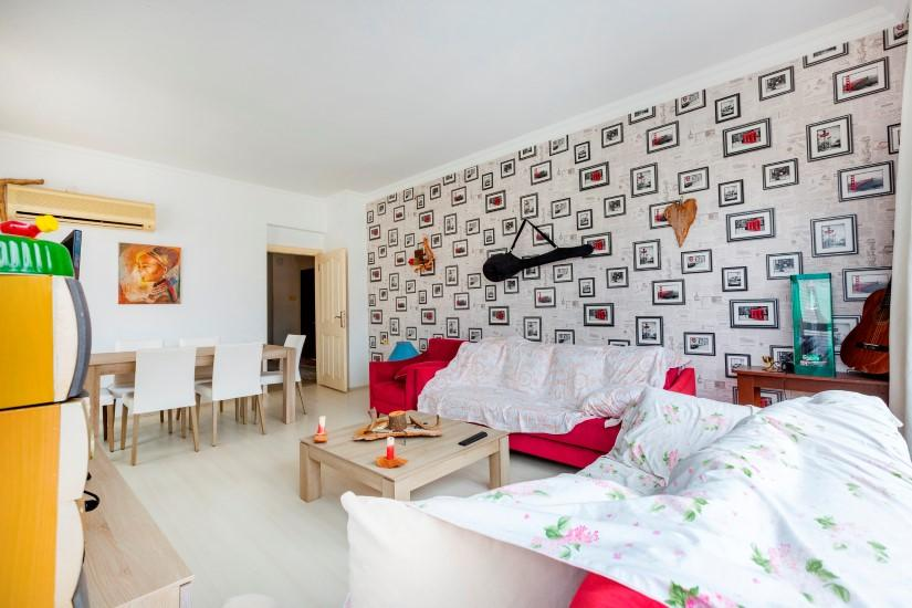 Трехкомнатная квартира в центре Алании рядом с пляжем Клеопатра - Фото 16