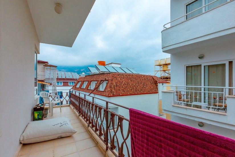 Трехкомнатная квартира в центре Алании рядом с пляжем Клеопатра - Фото 15