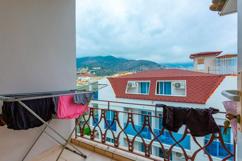 Трехкомнатная квартира в центре Алании рядом с пляжем Клеопатра - Фото 13