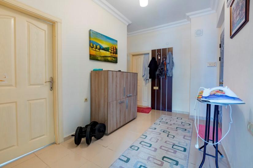 Трехкомнатная квартира в центре Алании рядом с пляжем Клеопатра - Фото 11