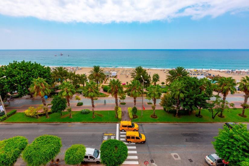 Трехкомнатная квартира в центре Алании рядом с пляжем Клеопатра - Фото 6