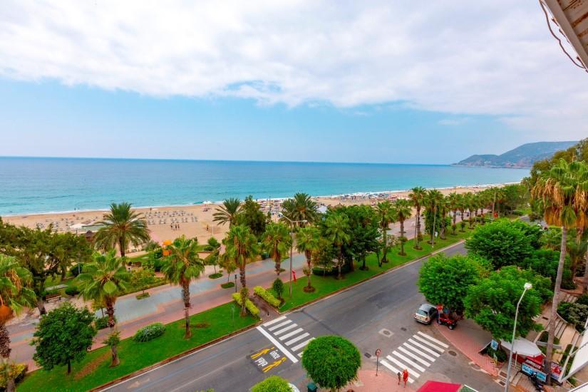 Трехкомнатная квартира в центре Алании рядом с пляжем Клеопатра - Фото 5