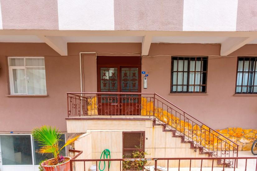 Трехкомнатная квартира в центре Алании рядом с пляжем Клеопатра - Фото 8