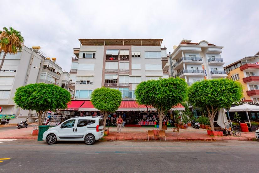 Трехкомнатная квартира в центре Алании рядом с пляжем Клеопатра - Фото 3