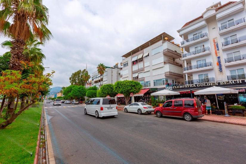 Трехкомнатная квартира в центре Алании рядом с пляжем Клеопатра - Фото 4