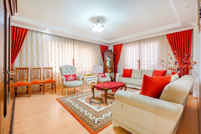 Недорогая четырехкомнатная квартира в самом центре Алании - Фото 13