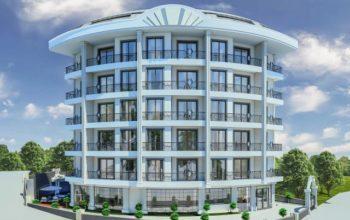 Cтроительство жилого комплекса в районе Тосмур