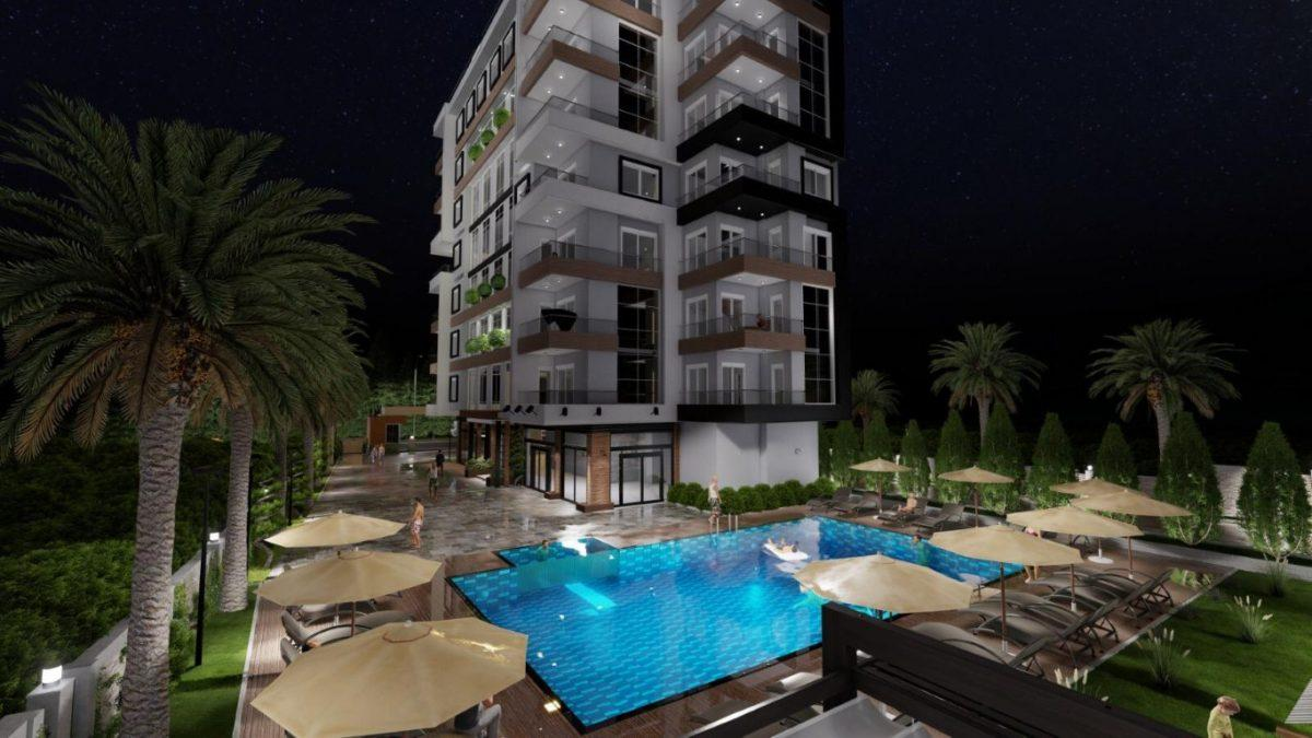 Новый проект жилого комплекса в Авсалларе - Фото 6