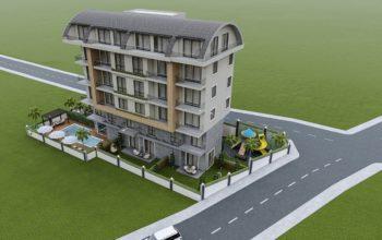 Привлекательный проект жилого комплекса в европейском районе Алании Оба