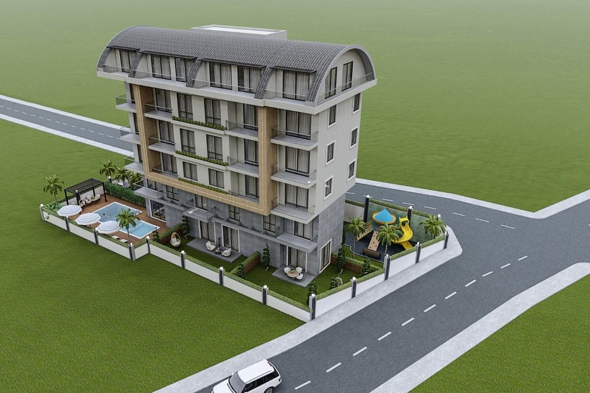 Привлекательный проект жилого комплекса в европейском районе Алании Оба - Фото 1