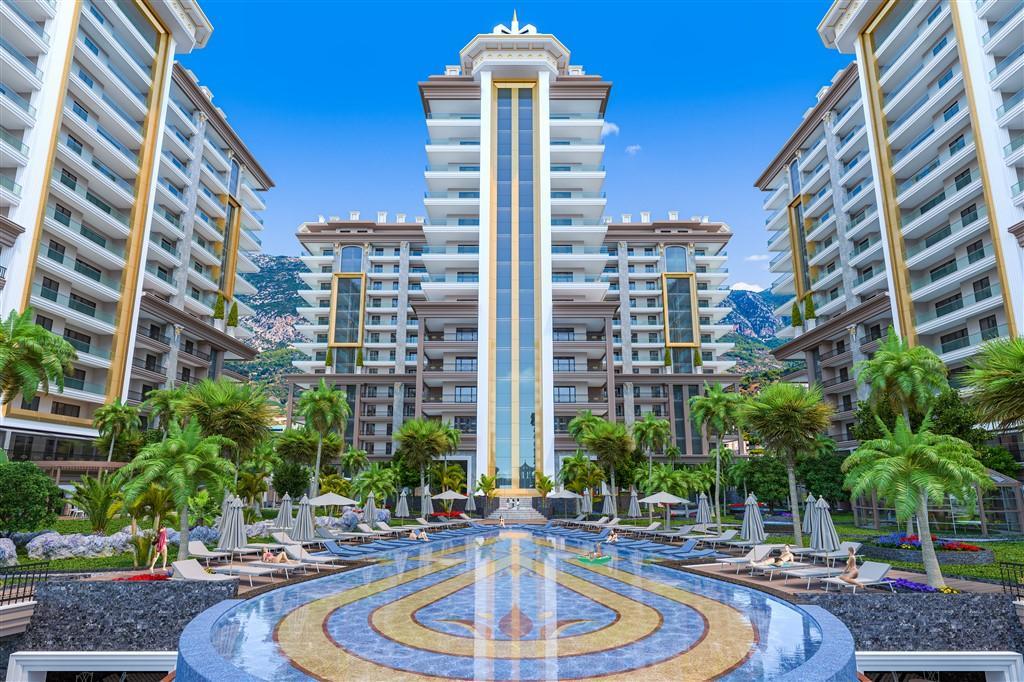 Апартаменты в комплексе премиум класса в Махмутларе - Фото 1