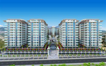 Апартаменты в новом комплексе в Махмутларе