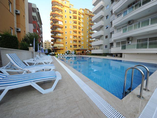 Квартира 2+1 в центре Махмутлара в комплексе с хорошей инфраструктурой - Фото 2