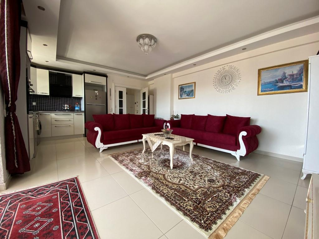 Просторная квартира 1+1 с мебелью и техникой в Махмутларе - Фото 2