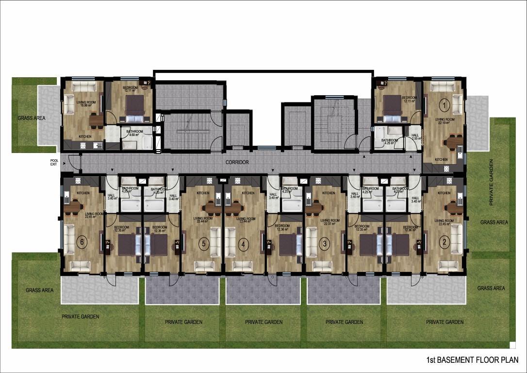 Новый инвестиционный проект на начальном этапе строительства  в районе Демирташ - Фото 22