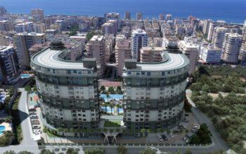 Двухкомнатные апартаменты в комплексе с богатой инфраструктурой