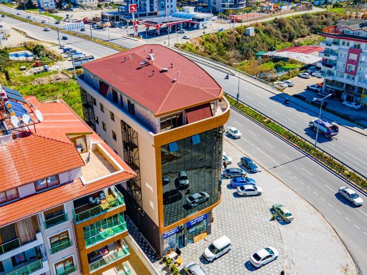 Пентхаус 4+1 в новом доме в центре Алании - Фото 1