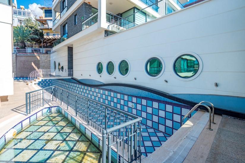 Видовая квартира 2+1 в комплексе люкс в Алании рядом со смотровой площадкой - Фото 26