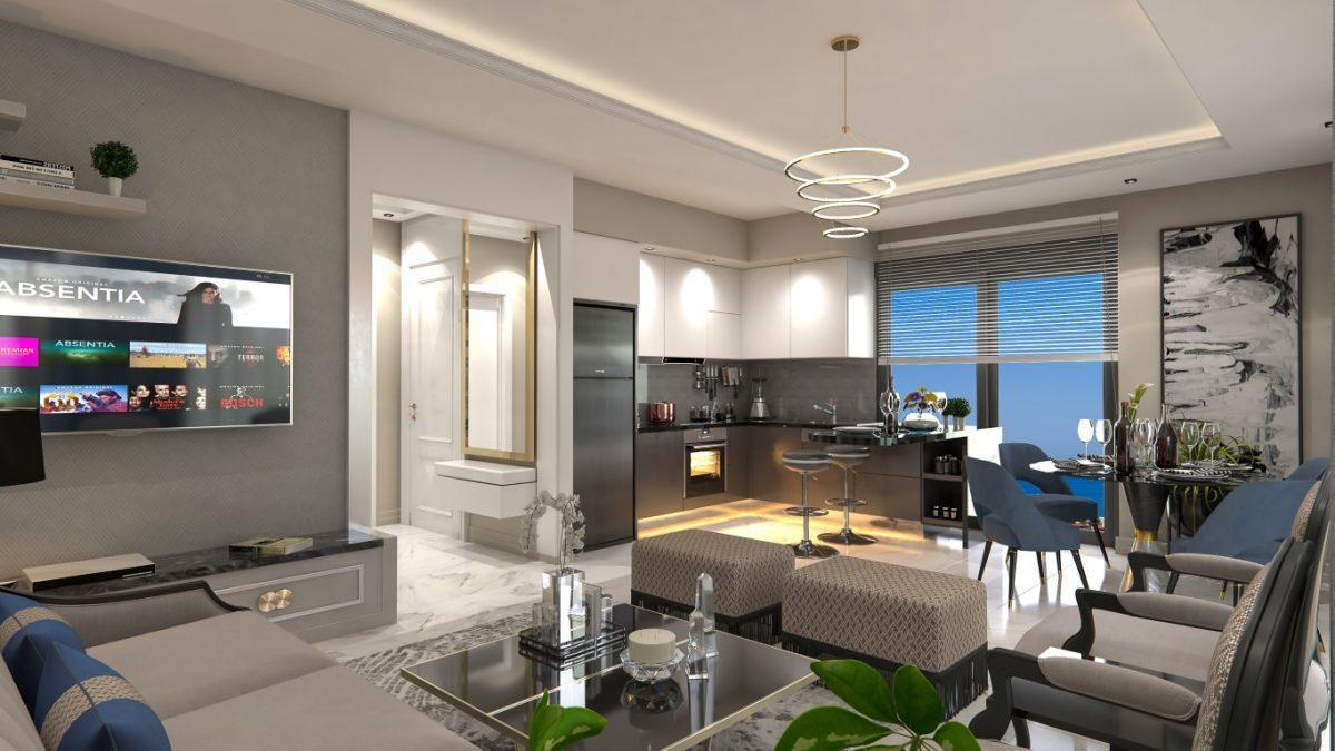 Новый инвестиционный проект на начальном этапе строительства  в районе Демирташ - Фото 17