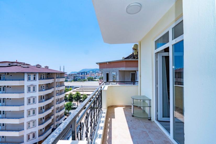 Двухкомнатные апартаменты на высоком этаже в центре Алании - Фото 22