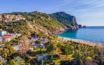 Апартаменты на первой береговой линии пляжа Клеопатры