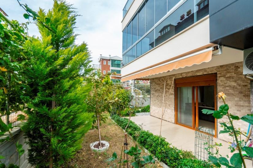 Садовый дуплекс 4+2 в Кестеле рядом с морем - Фото 9