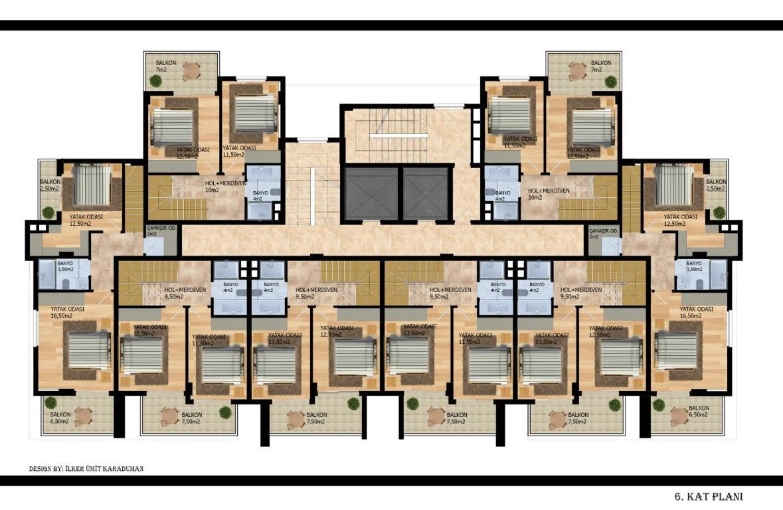 Квартиры с беспроцентной рассрочкой в районе Авсаллар - Фото 19
