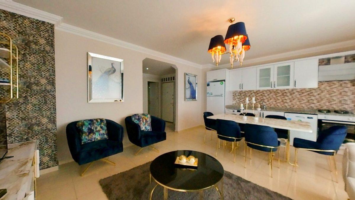 Красивая квартира 2+1 с мебелью в Махмутларе - Фото 7