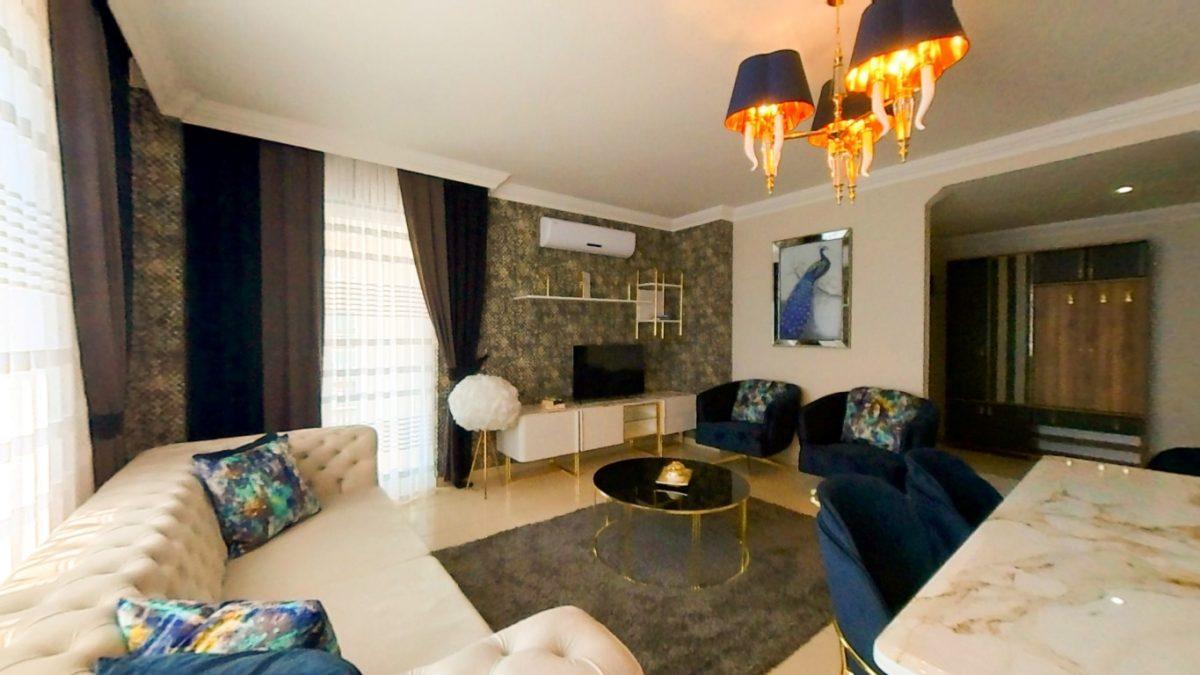 Красивая квартира 2+1 с мебелью в Махмутларе - Фото 8