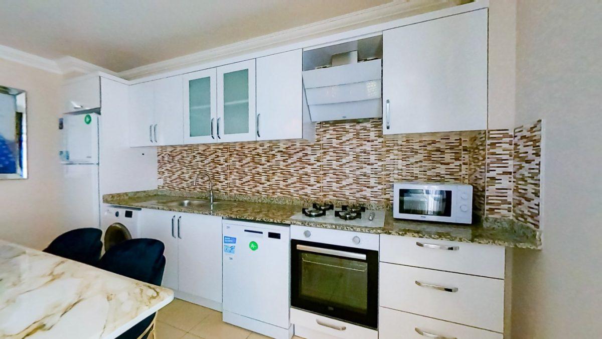 Красивая квартира 2+1 с мебелью в Махмутларе - Фото 9