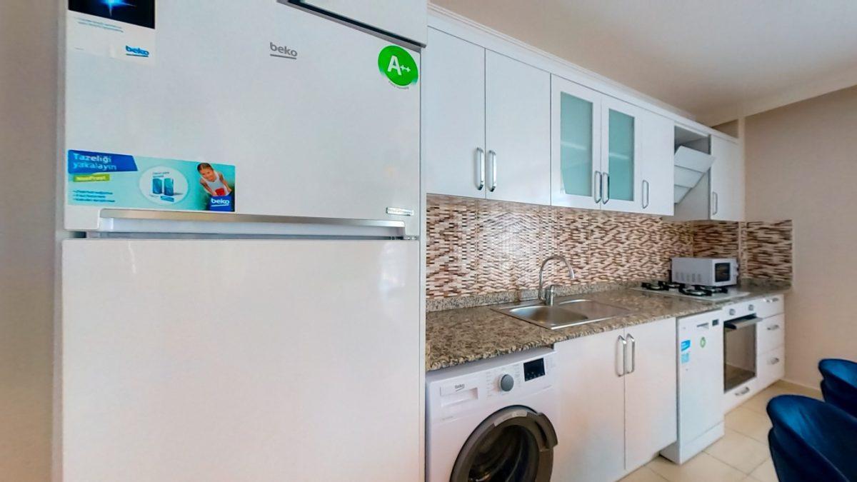 Красивая квартира 2+1 с мебелью в Махмутларе - Фото 10