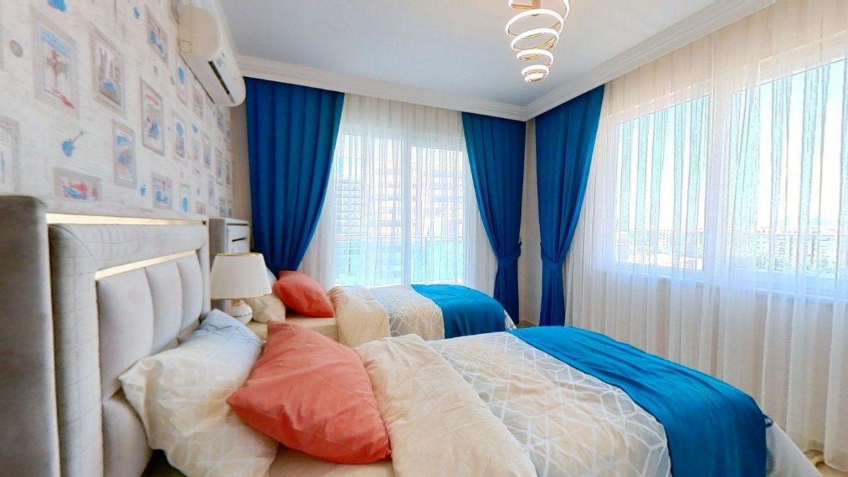 Красивая квартира 2+1 с мебелью в Махмутларе - Фото 12