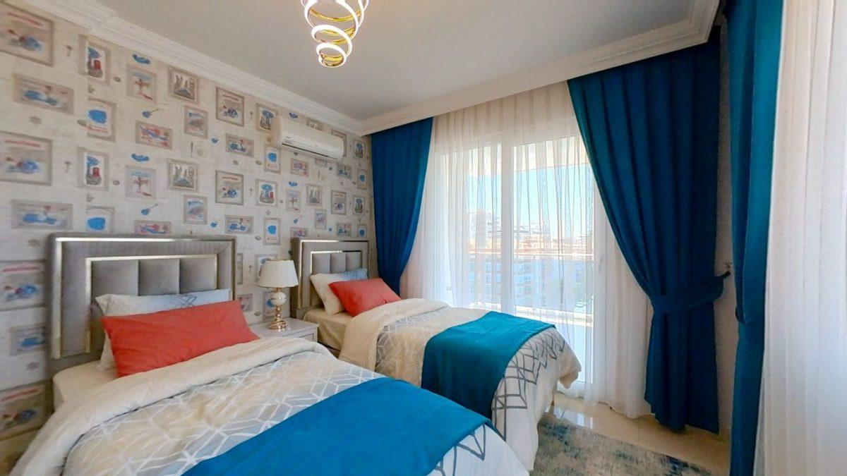 Красивая квартира 2+1 с мебелью в Махмутларе - Фото 13
