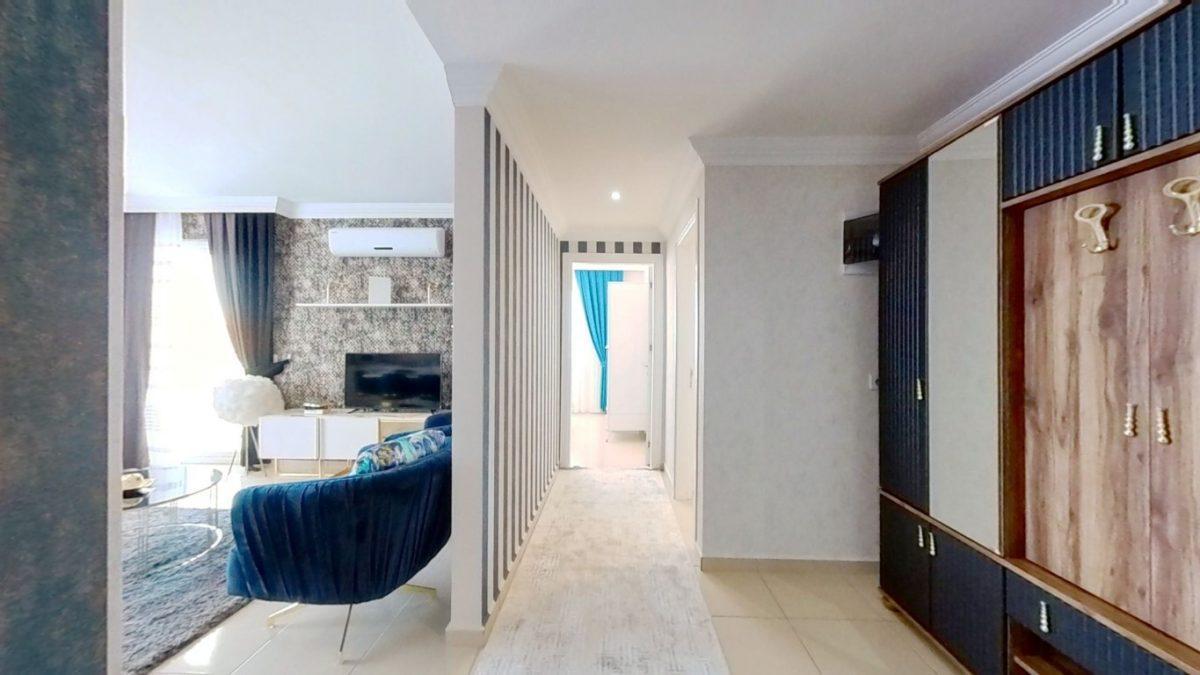 Красивая квартира 2+1 с мебелью в Махмутларе - Фото 14