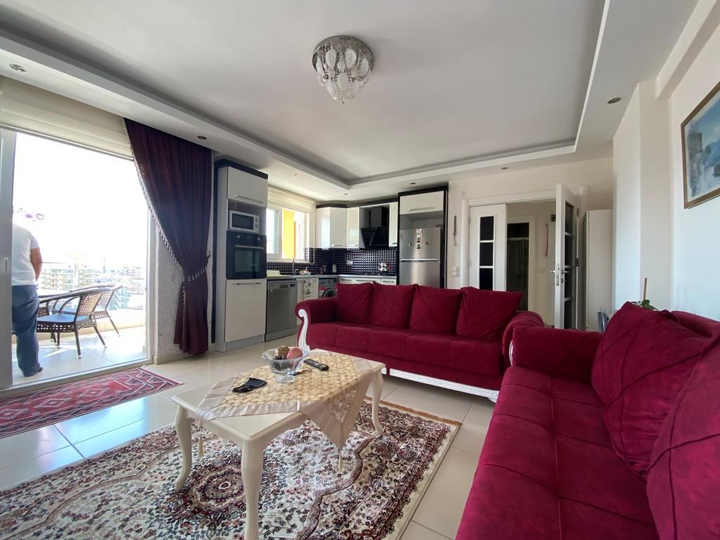 Просторная квартира 1+1 с мебелью и техникой в Махмутларе - Фото 3