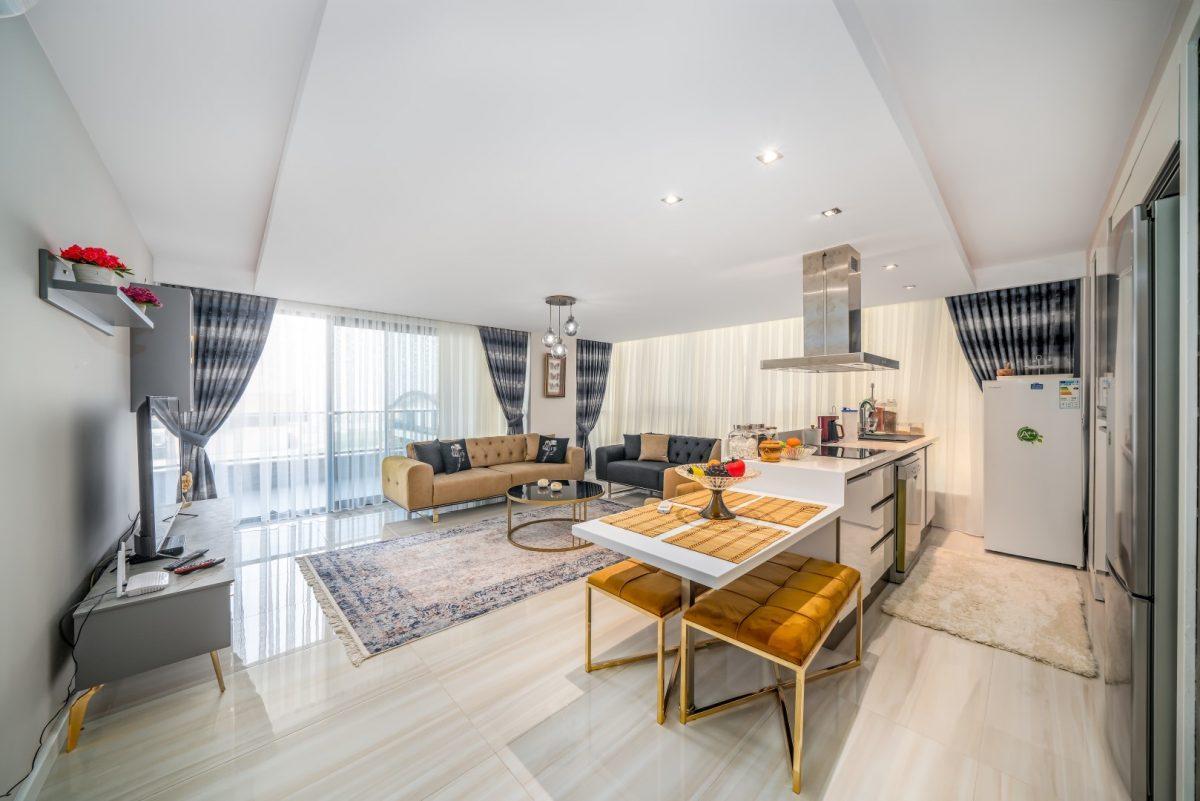 Меблированная квартира в комплексе с богатой инфраструктурой в Кыргыджак - Фото 19