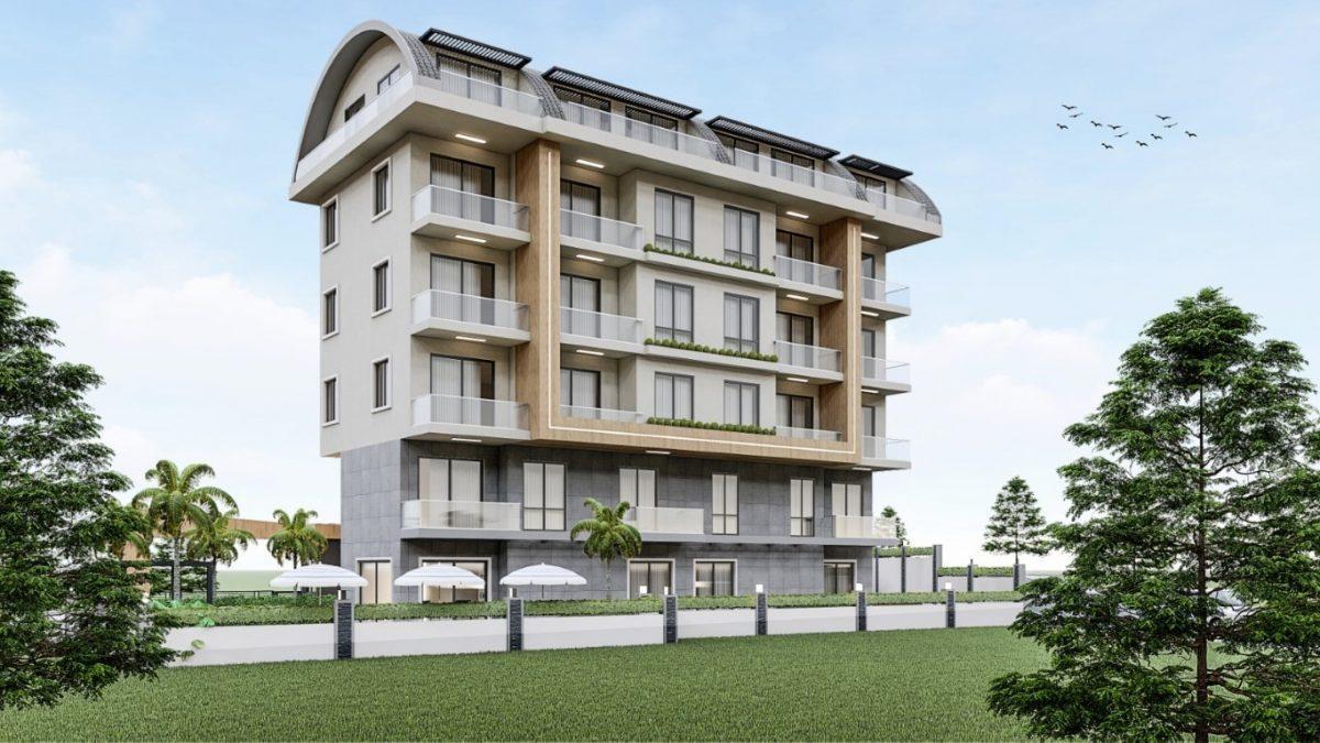 Привлекательный проект жилого комплекса в европейском районе Алании Оба - Фото 2