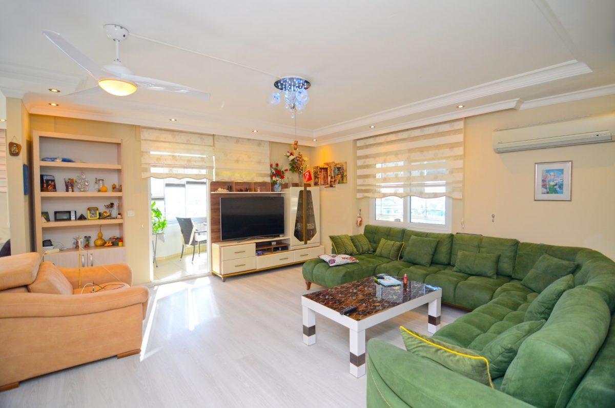 Просторная меблированная квартира 2+1 в Махмутларе - Фото 15