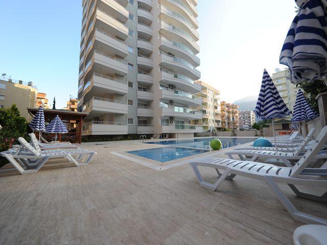 Квартира 2+1 в центре Махмутлара в комплексе с хорошей инфраструктурой - Фото 3