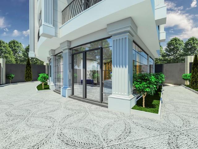 Cтроительство жилого комплекса в районе Тосмур - Фото 3