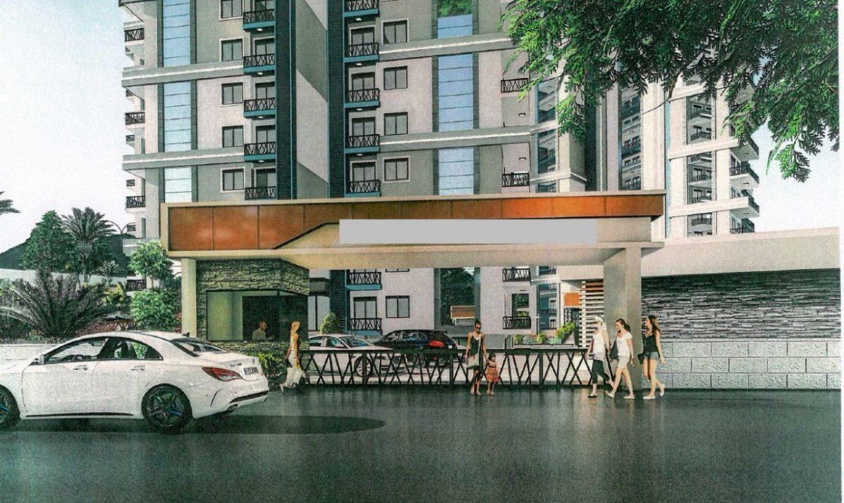 Апартаменты 1+1 в строящемся комплексе в Махмутларе - Фото 6