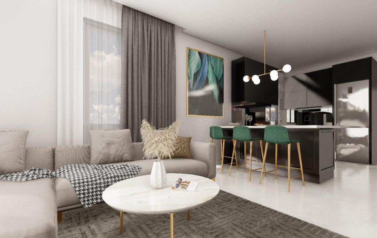 Апартаменты по выгодным ценам от застройщика в центре Алании близко к морю - Фото 5