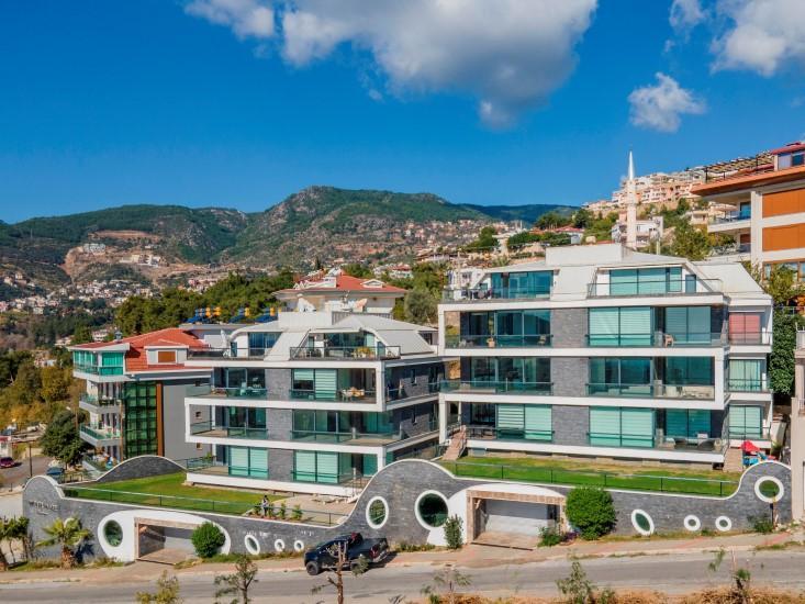 Видовая квартира 2+1 в комплексе люкс в Алании рядом со смотровой площадкой - Фото 19