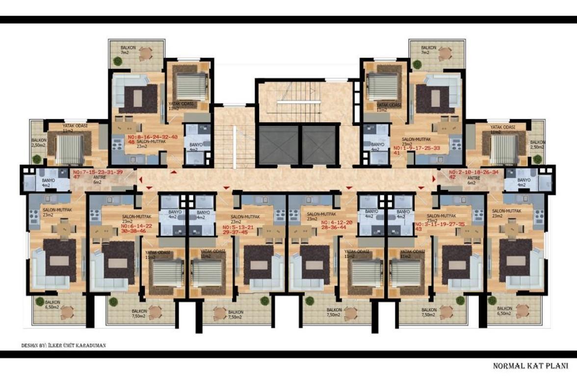 Квартиры с беспроцентной рассрочкой в районе Авсаллар - Фото 20