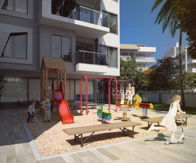 Новая квартира 2+1 в комплексе люкс в центре Алании - Фото 4